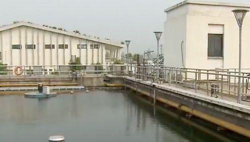 """长沙:""""生物转盘""""日吞8000吨污水"""