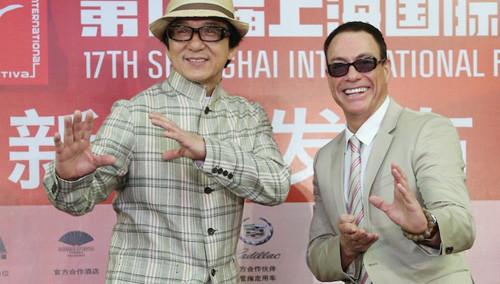 成龙国际动作电影周明年启动 好友尚格云顿现身助阵