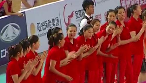 国际女排精英赛:中国队三连胜 夺郴州站冠军