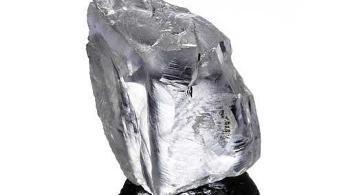 南非惊现232克拉高纯白钻
