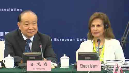 第二届中欧论坛圆桌会议:交流城镇化发展经验