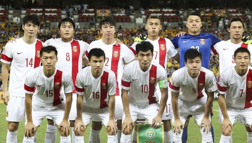 国足亚洲杯历程
