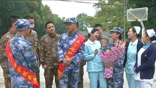 衡阳:护航亚丁湾医疗小组凯旋