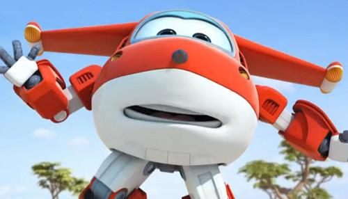 """讲述了飞机机器人乐迪与一群称为""""超级飞侠""""的小伙伴"""