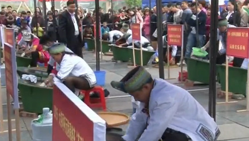 """怀化沅陵:碣滩茶""""茶王""""大赛"""