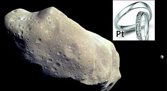 含有一亿吨铂金小行星掠过地球 价值超5万亿美元