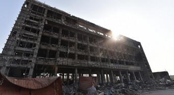 现场救出32人 天津市政府开发布会介绍最新情况