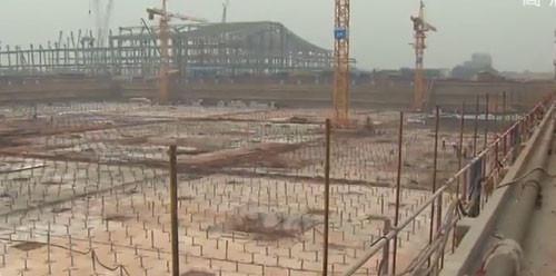 重点工程长沙国际会展中心项目建设加速推进 明年8月建成