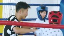 萌娃拳击赛夏天打败轩轩