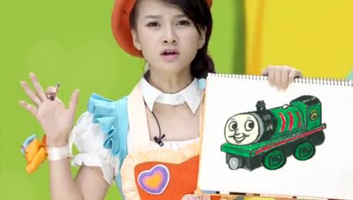 飞行幼乐园20151024期:简笔画小火车