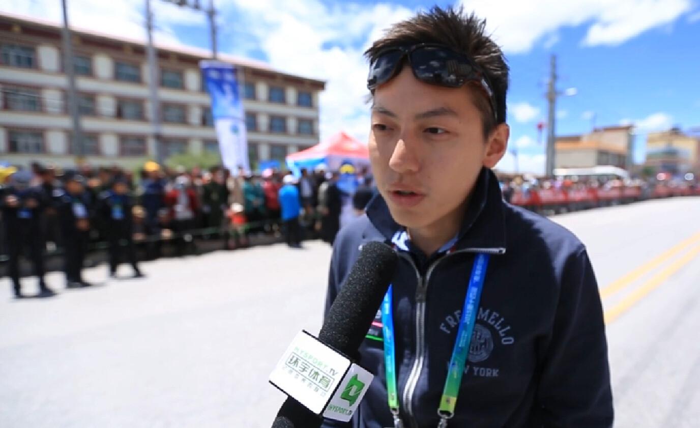 2015环青海湖国际公路自行车赛:蓝波美利达车队亚洲区经理采访