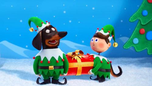 《爱宠大机密》圣诞预告:宠物们拍圣诞艺术照各种凹造型