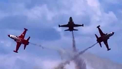土耳其之星世界顶级飞行表演队