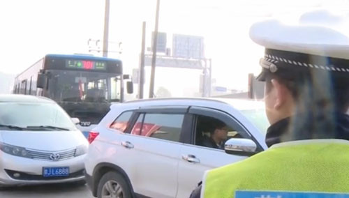 国际会展中心周边出口 私家车辆禁止驶入