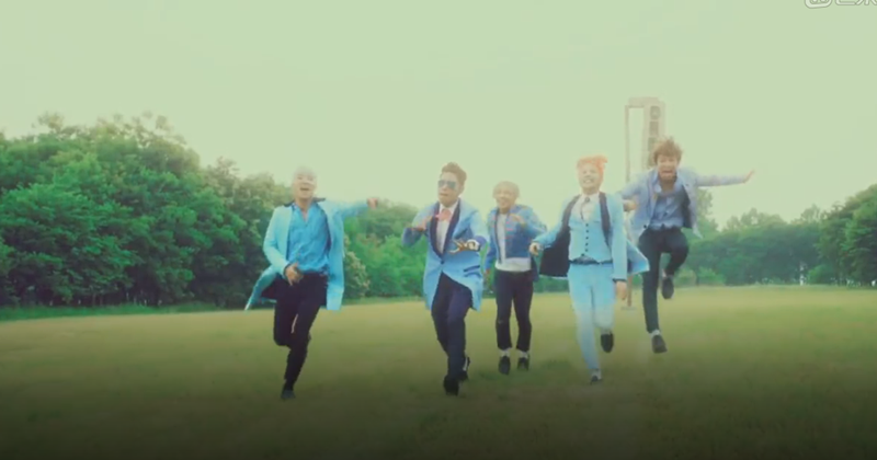 "BIGBANG粉丝团集体出征""歌手"""